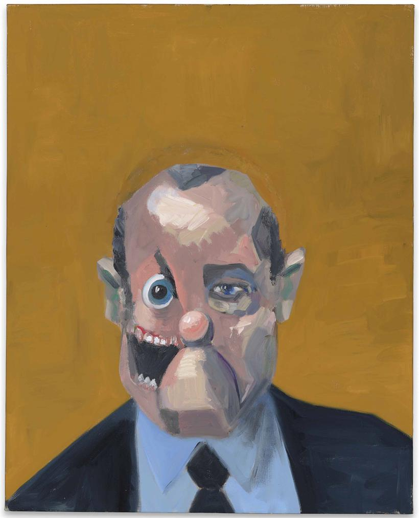 George Condo-The Business Man-2007