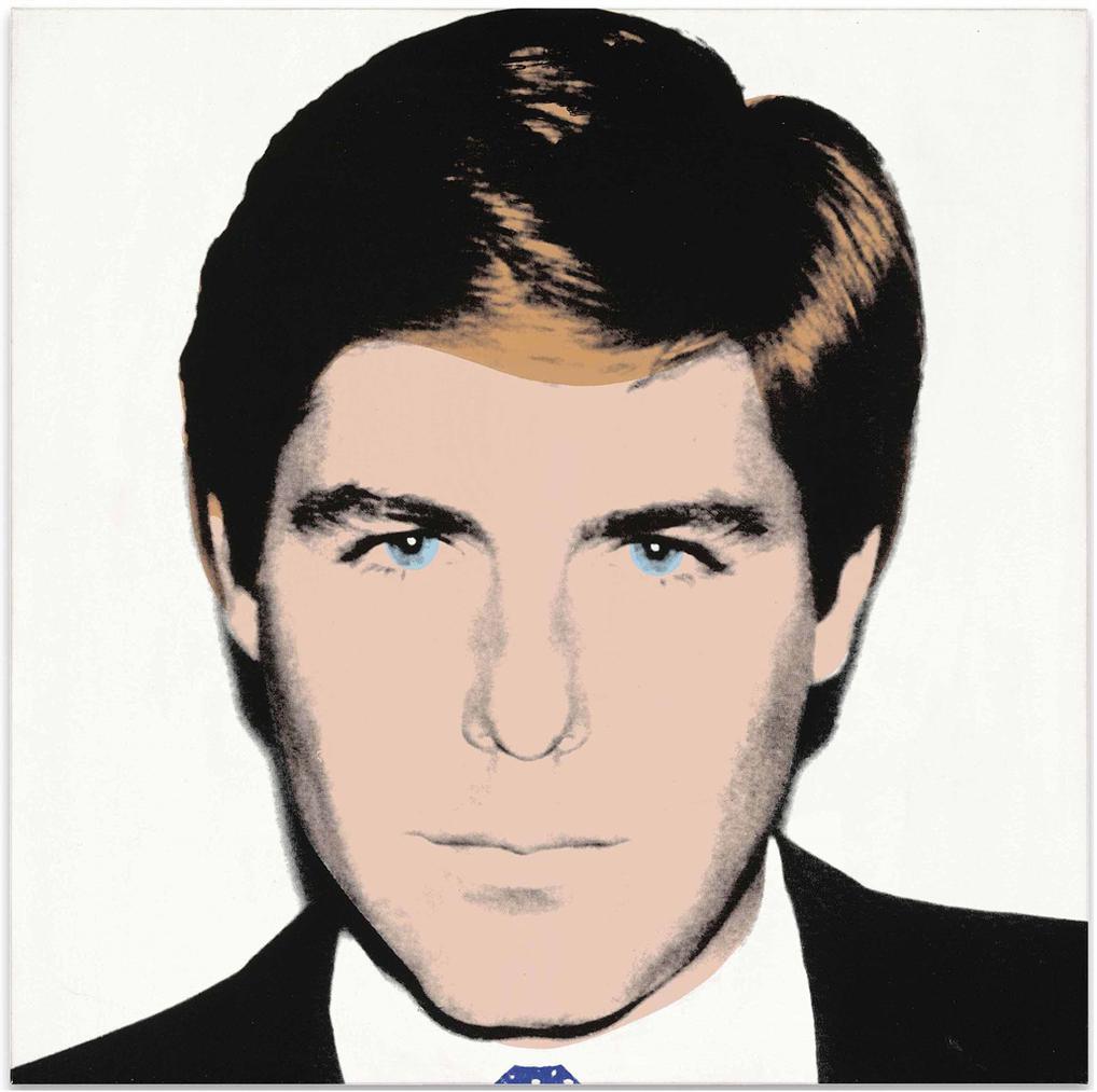 Andy Warhol-(i) Portrait Of Craig Johnson (White); (ii) Portrait Of Craig Johnson (Red)-1985