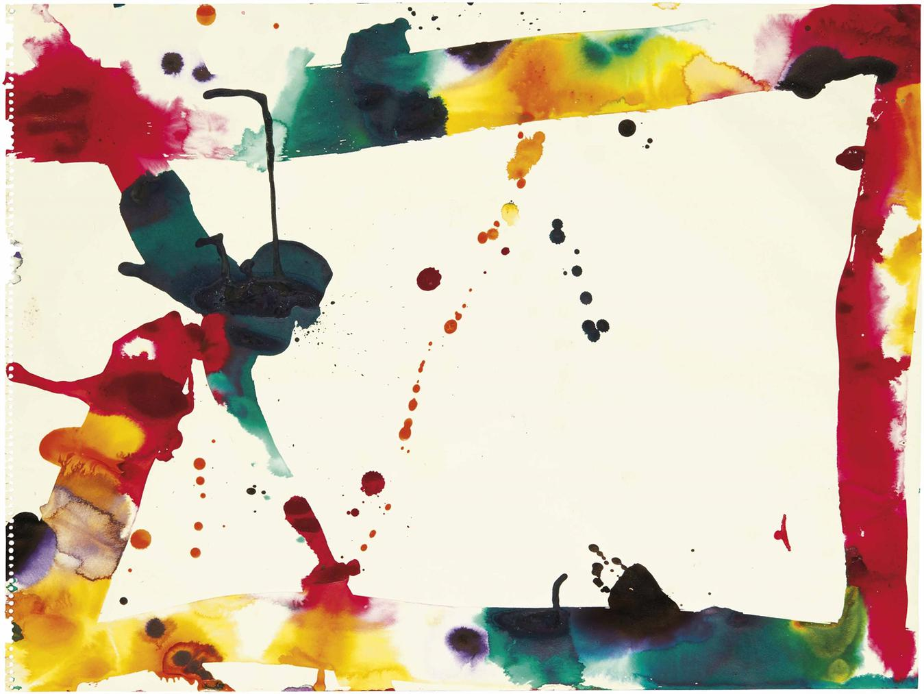 Sam Francis-Untitled-1970