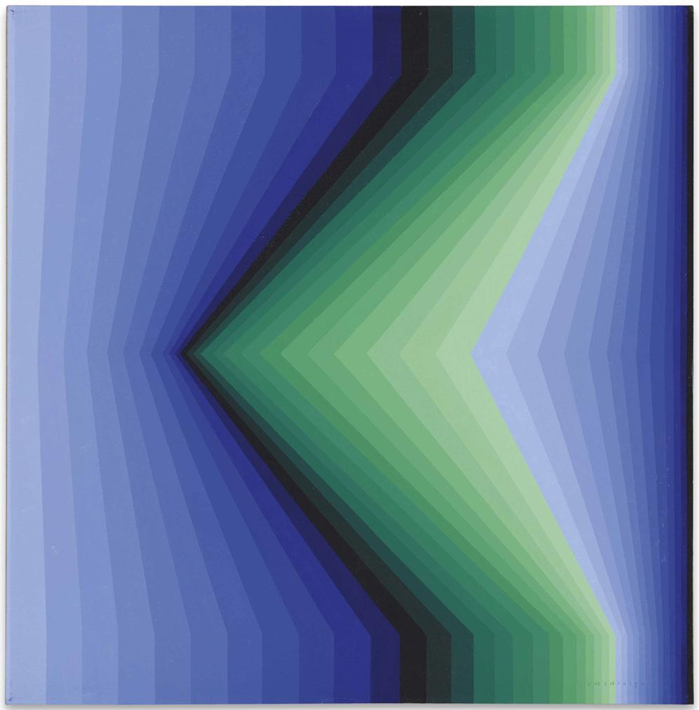 Victor Vasarely-Gironde-1977