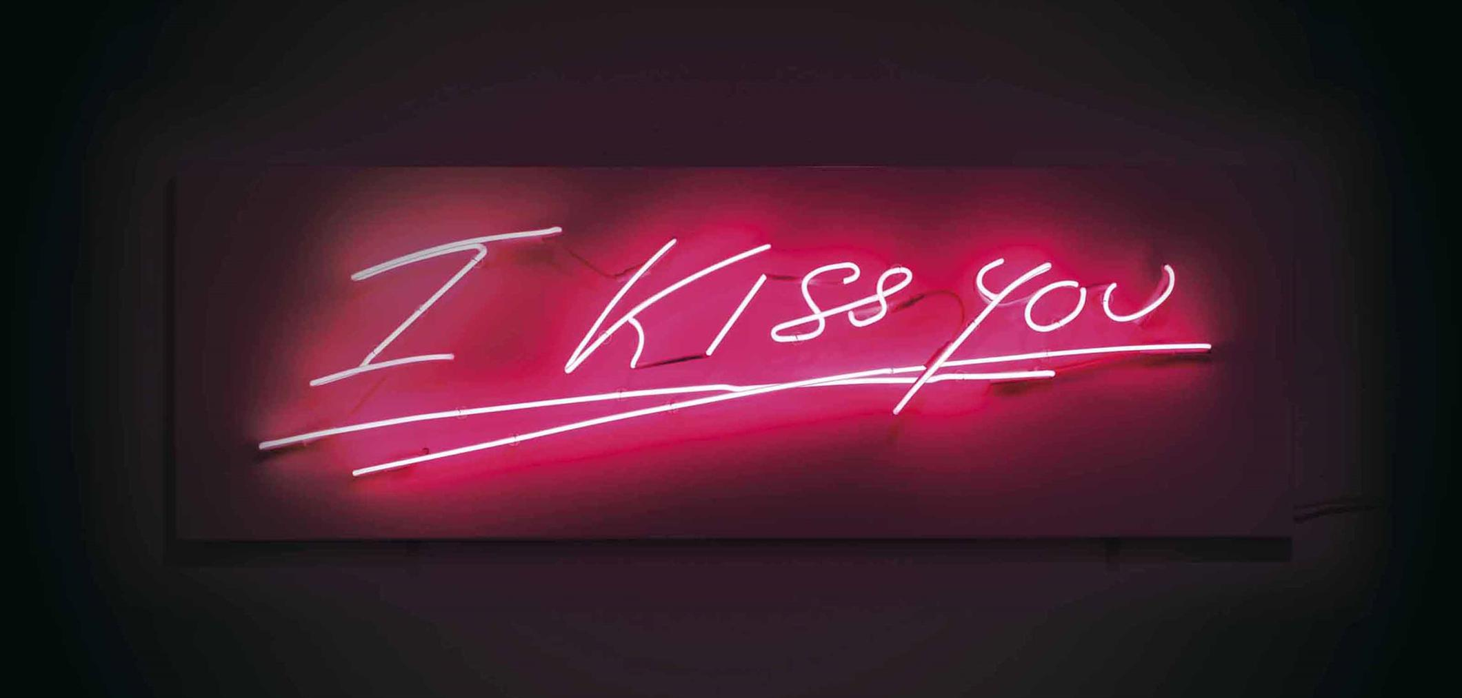 Tracey Emin-I Kiss You-2004