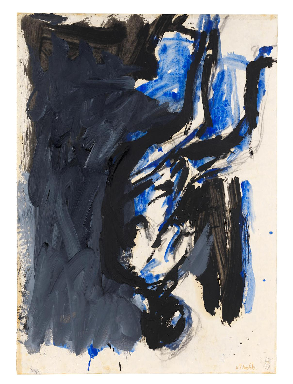 Georg Baselitz-Untitled-1977