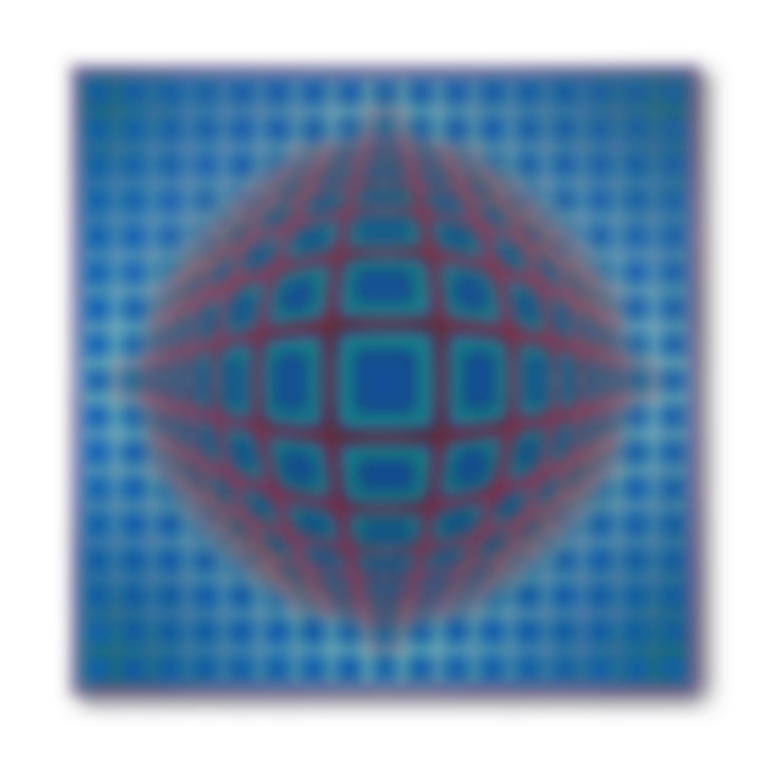 Victor Vasarely-V.P. 103-1979