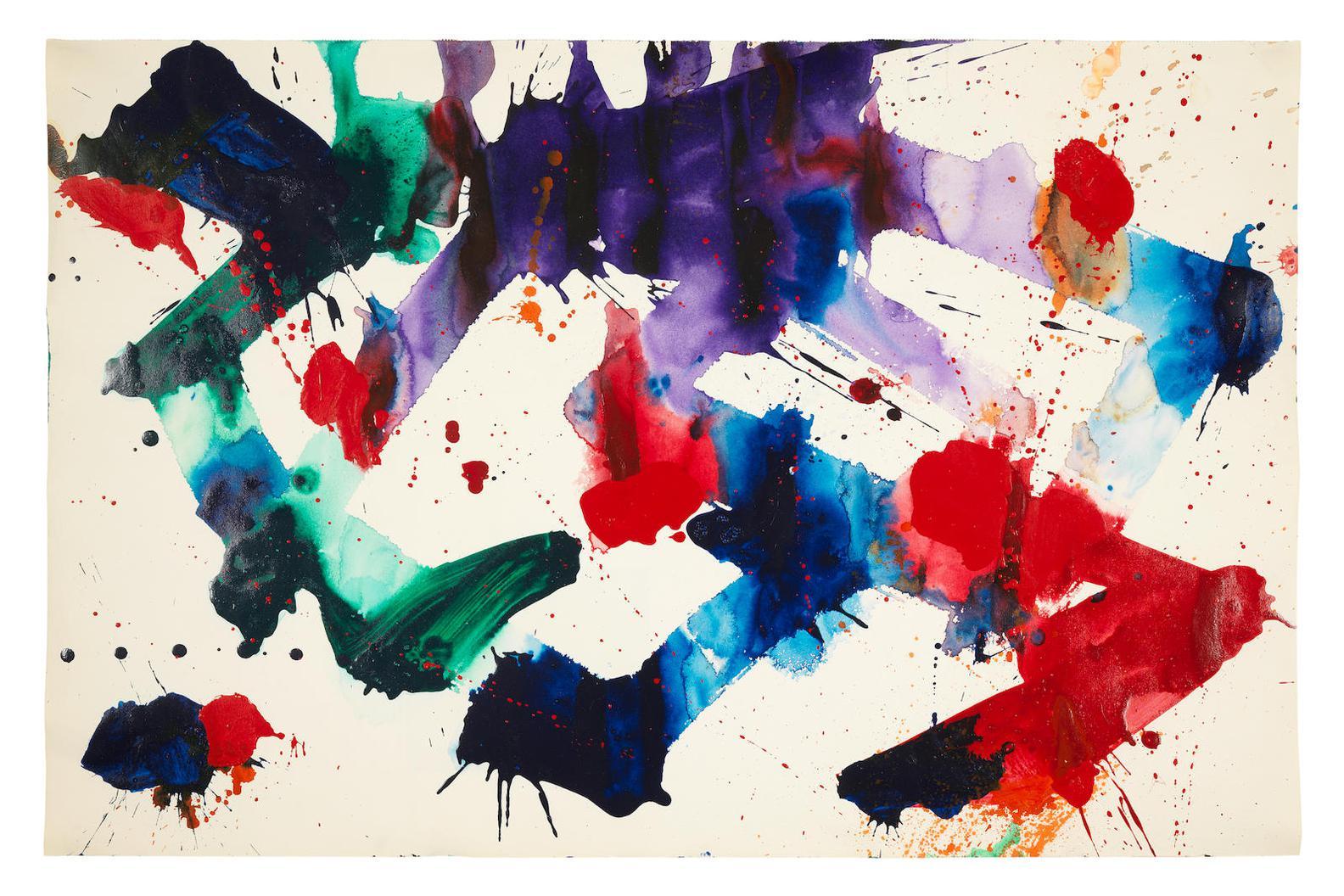 Sam Francis-Untitled (Sf84-1120)-1984