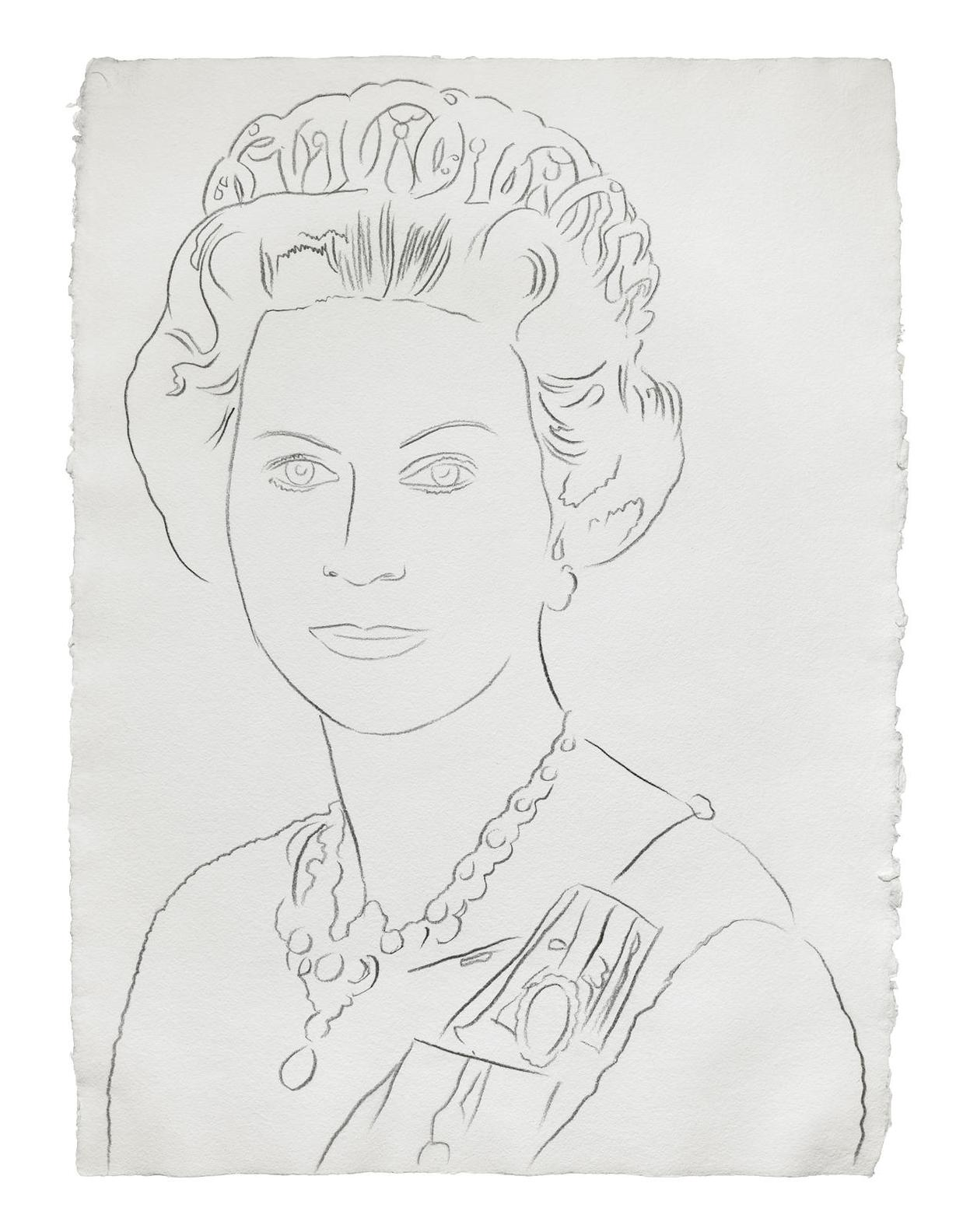 Andy Warhol-Reigning Queens: Queen Elizabeth II Of The United Kingdom-1985