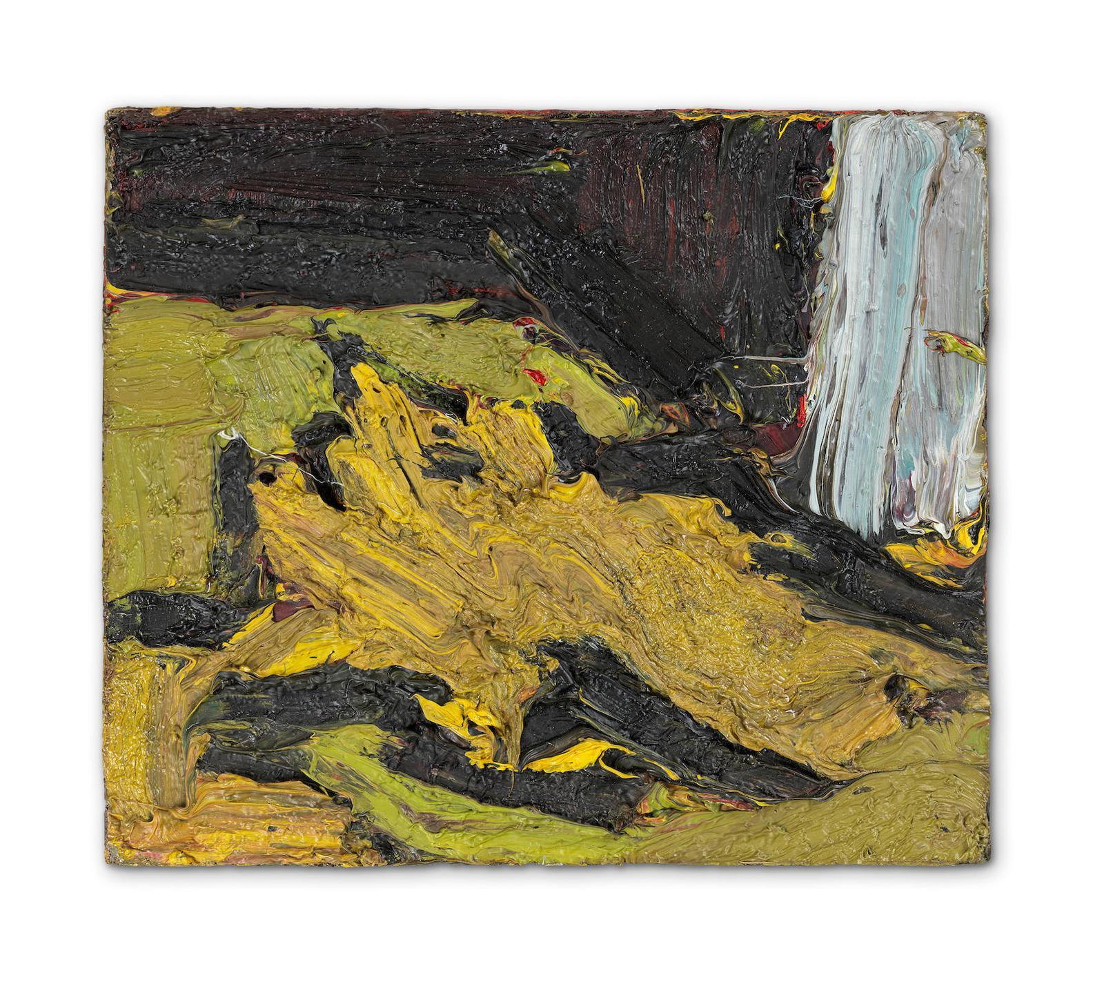 Frank Auerbach-Reclining Head Of E.O.W. II-1969