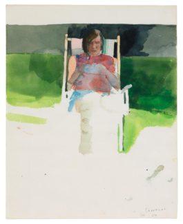 David Hockney-Ianthe Cornwall-Jones-1967