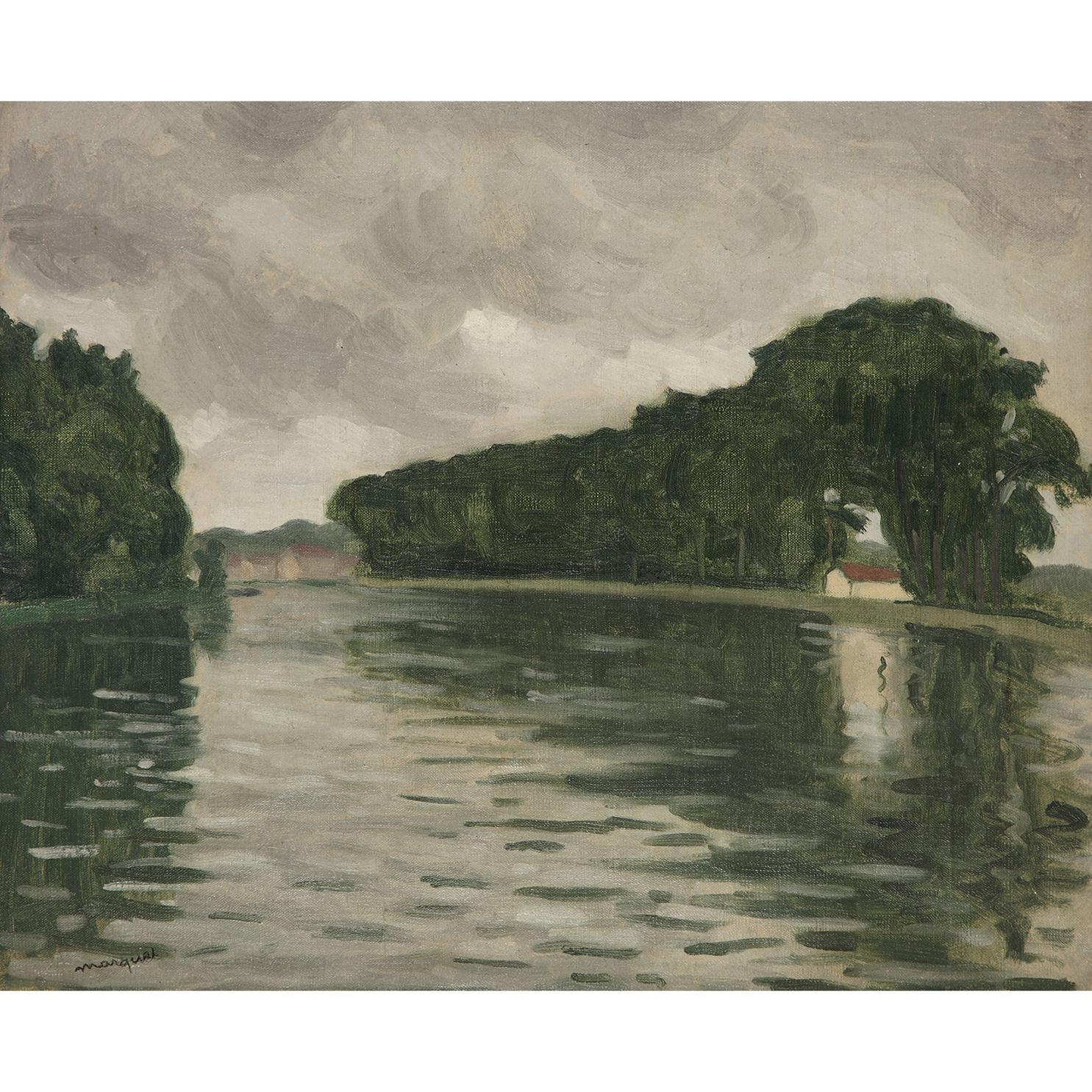 Albert Marquet-La Seine A Samois-1917