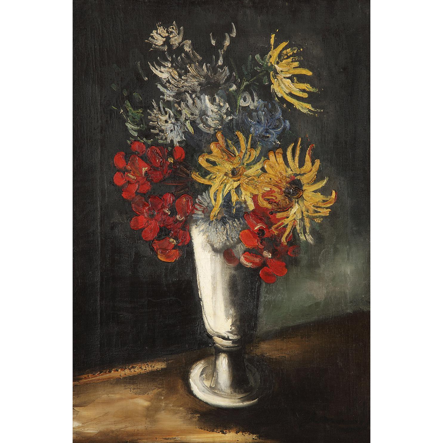 Maurice de Vlaminck-Fleurs Dans Un Vase-1940