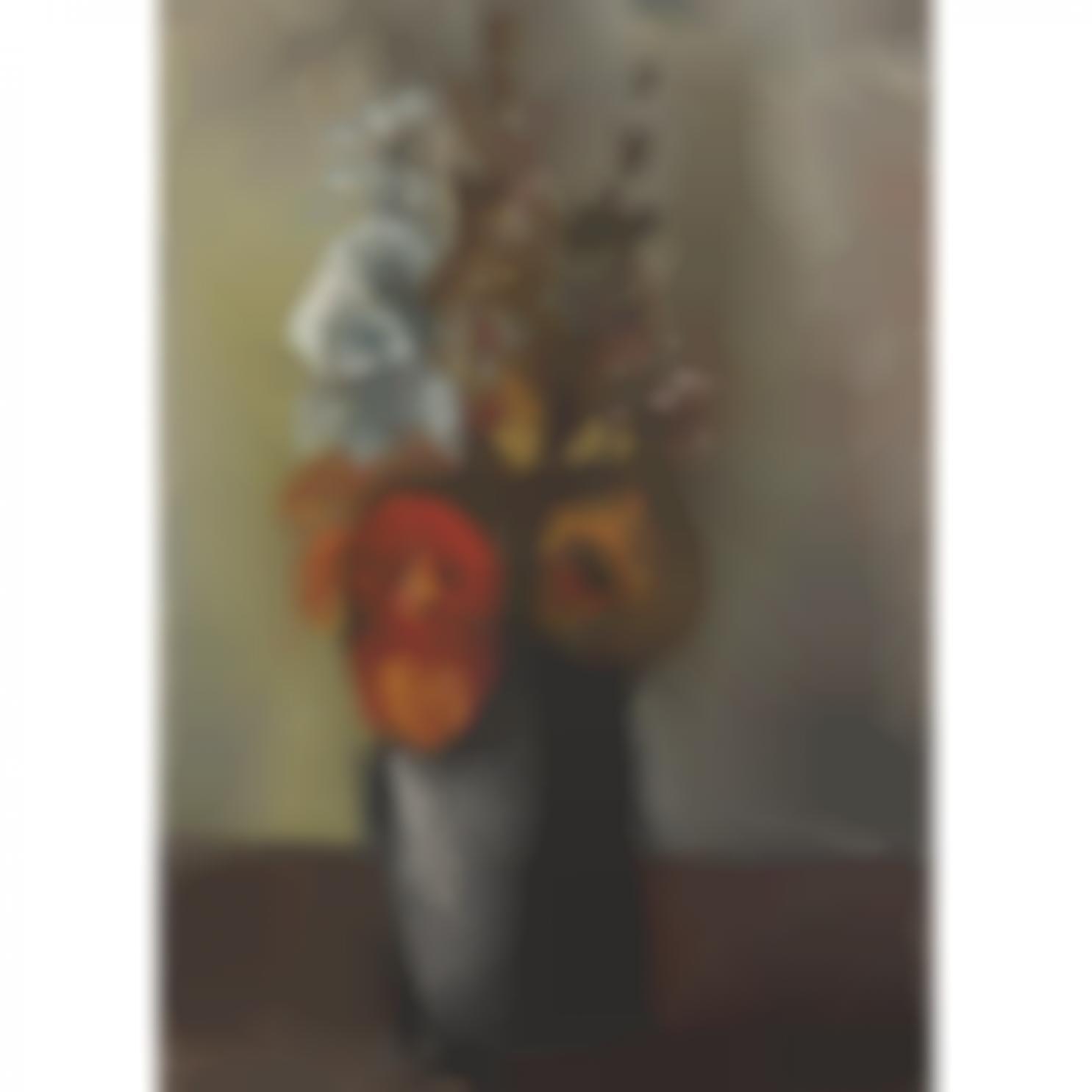 Maurice de Vlaminck-Fleurs Dans Un Vase-1930