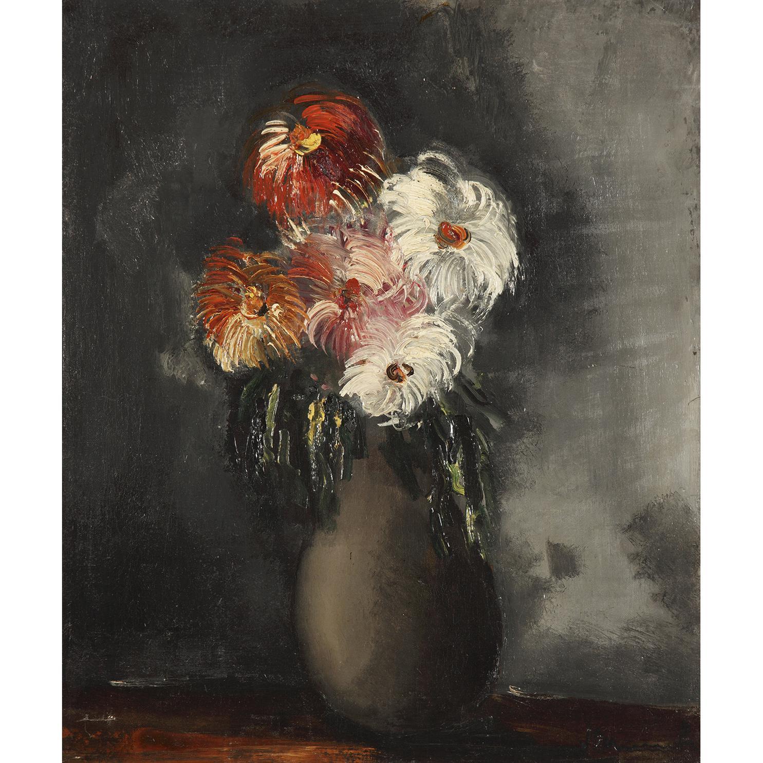 Maurice de Vlaminck-Les Chrysanthemes-