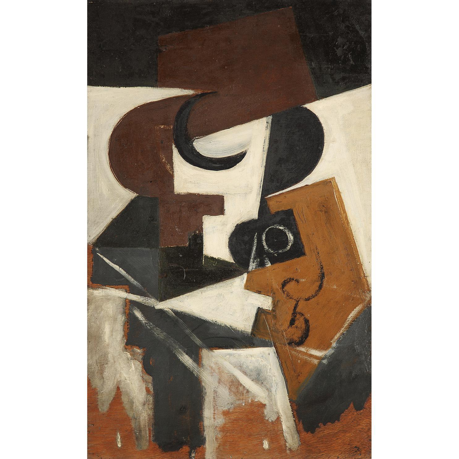 Juan Gris-Compotier Et Verre-1916