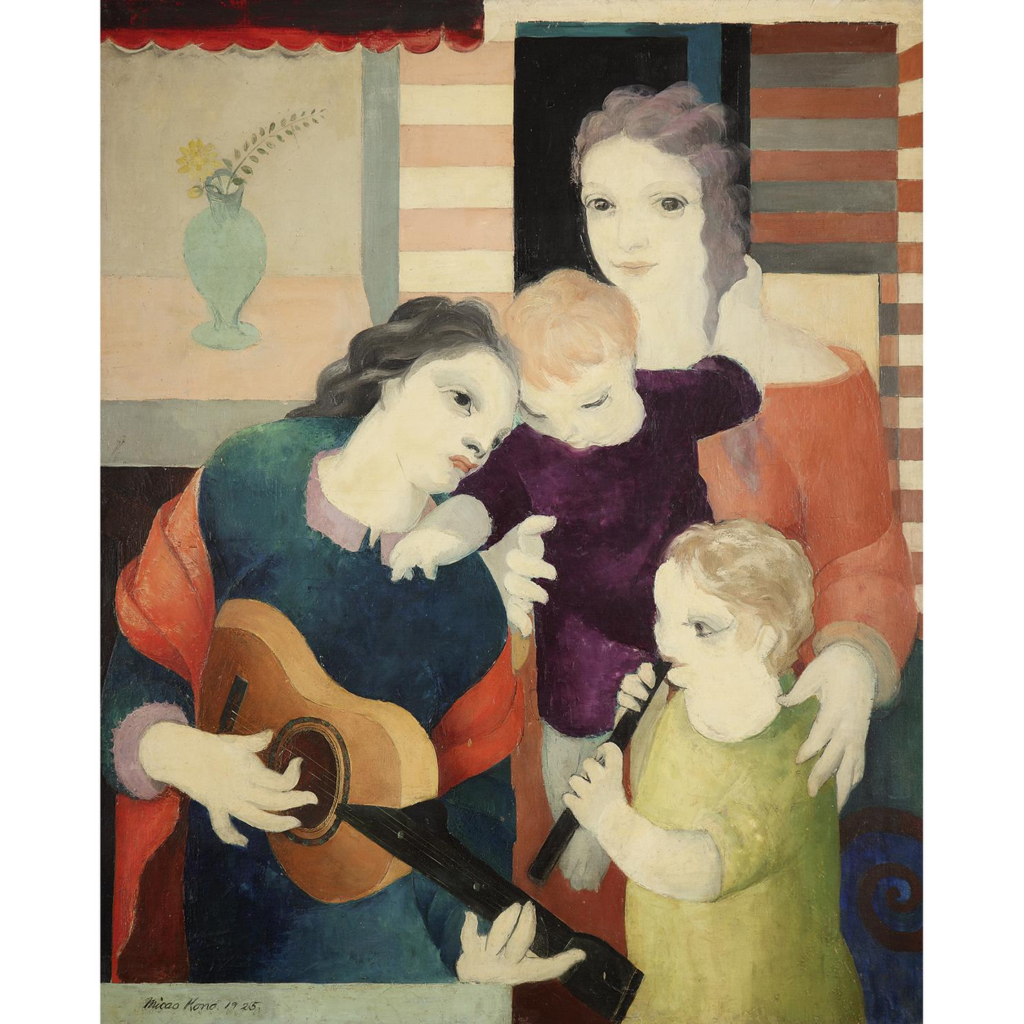 Mikao Kono - Les Musiciens-1925