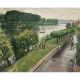 Albert Marquet-Route Du Bord De La Seine A La Frette-1940