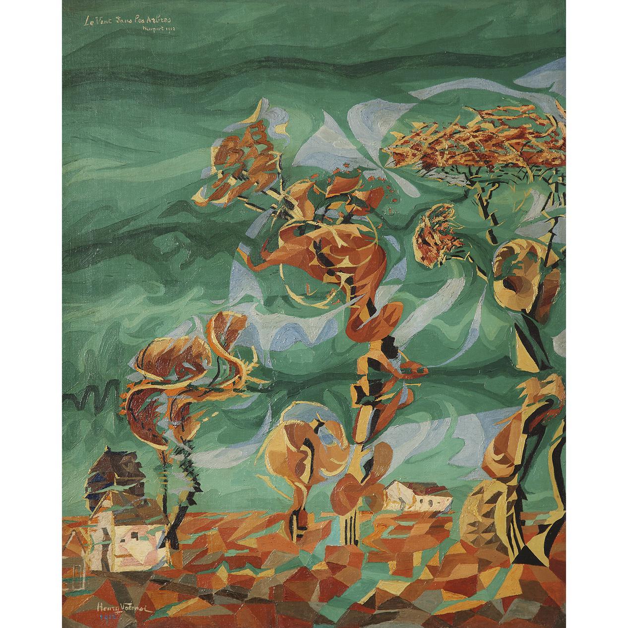 Henry Valensi-Le Vent Dans Les Arbres-1912