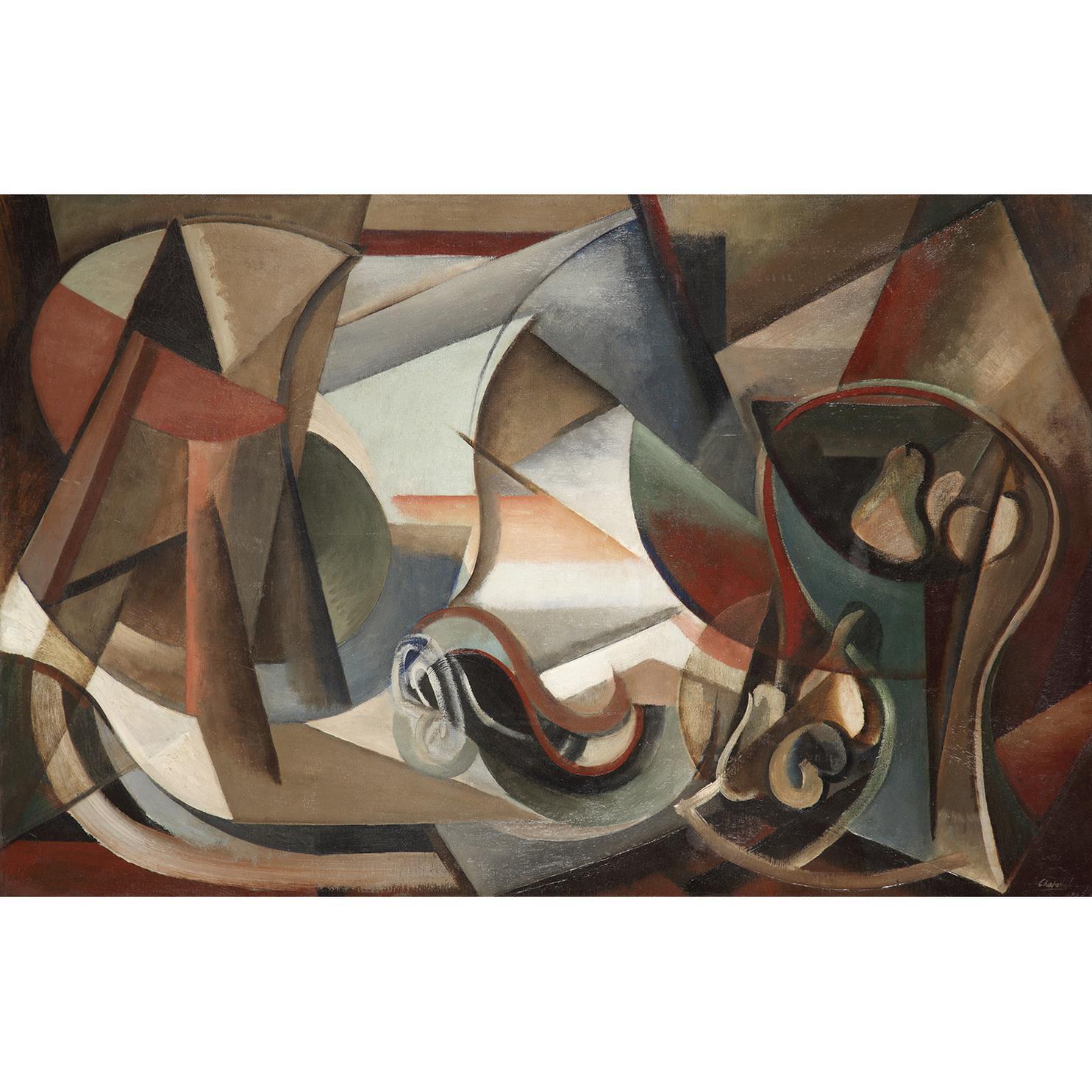 Youla Chapoval - Composition A La Coupe De Poires-1947