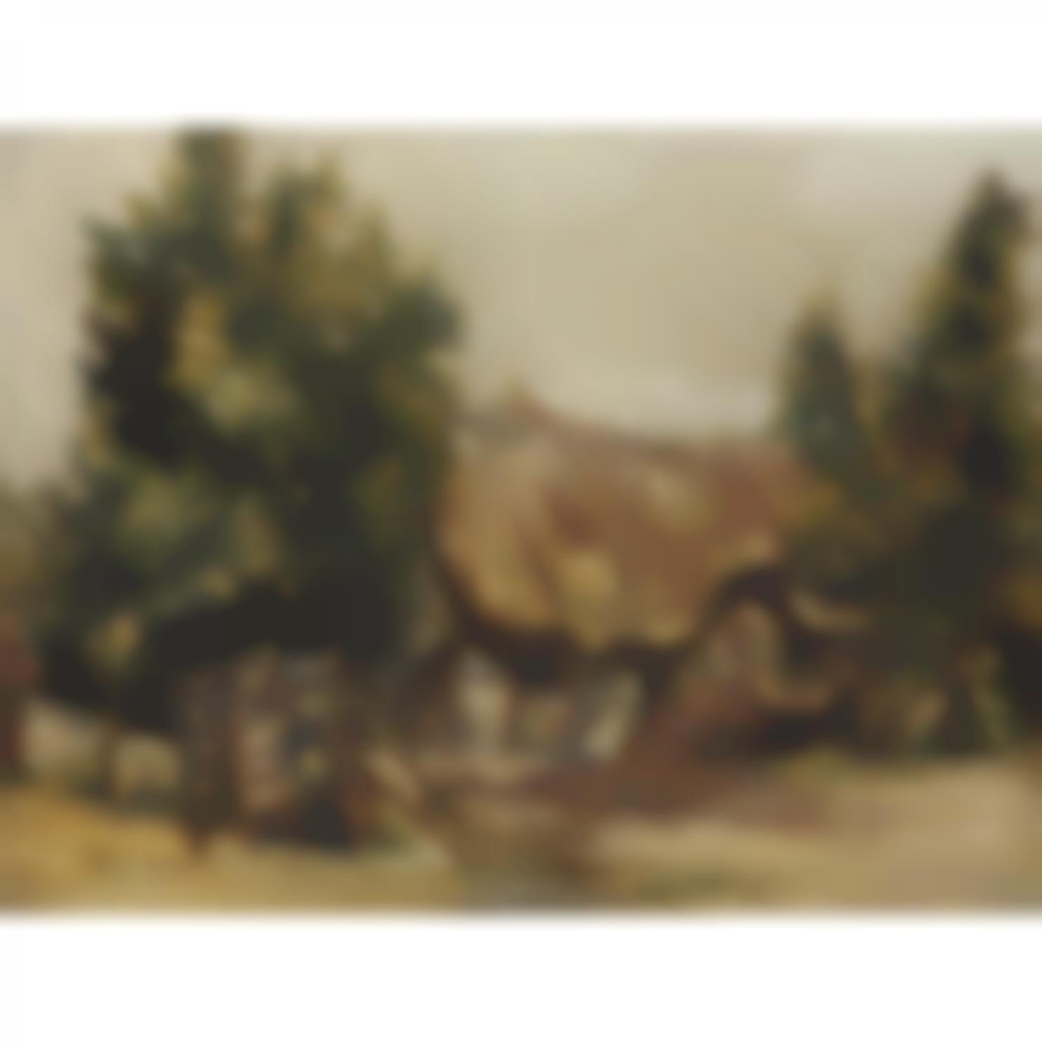 Raoul Dufy-Paysage De Normandievers-1985