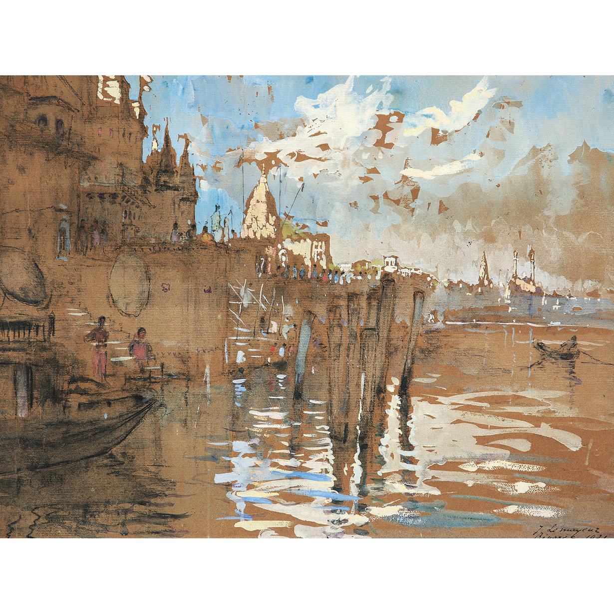Adrien Jean Le Mayeur De Merpres-Benares-1921