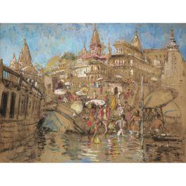 Adrien Jean Le Mayeur De Merpres-Baignade A Bali