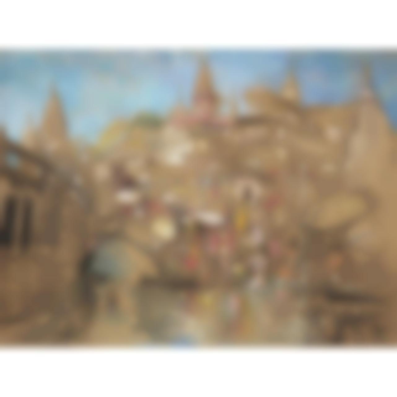 Adrien Jean Le Mayeur De Merpres-Baignade A Bali-