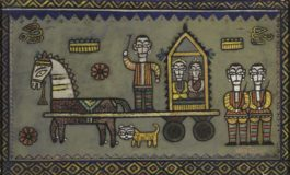 Jamini Roy - Untitled (The Procession)