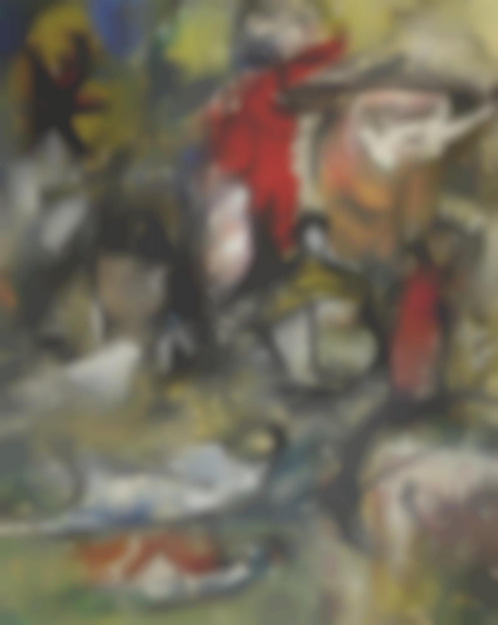 Sailoz Mookherjea - Untitled (Peace)-1950