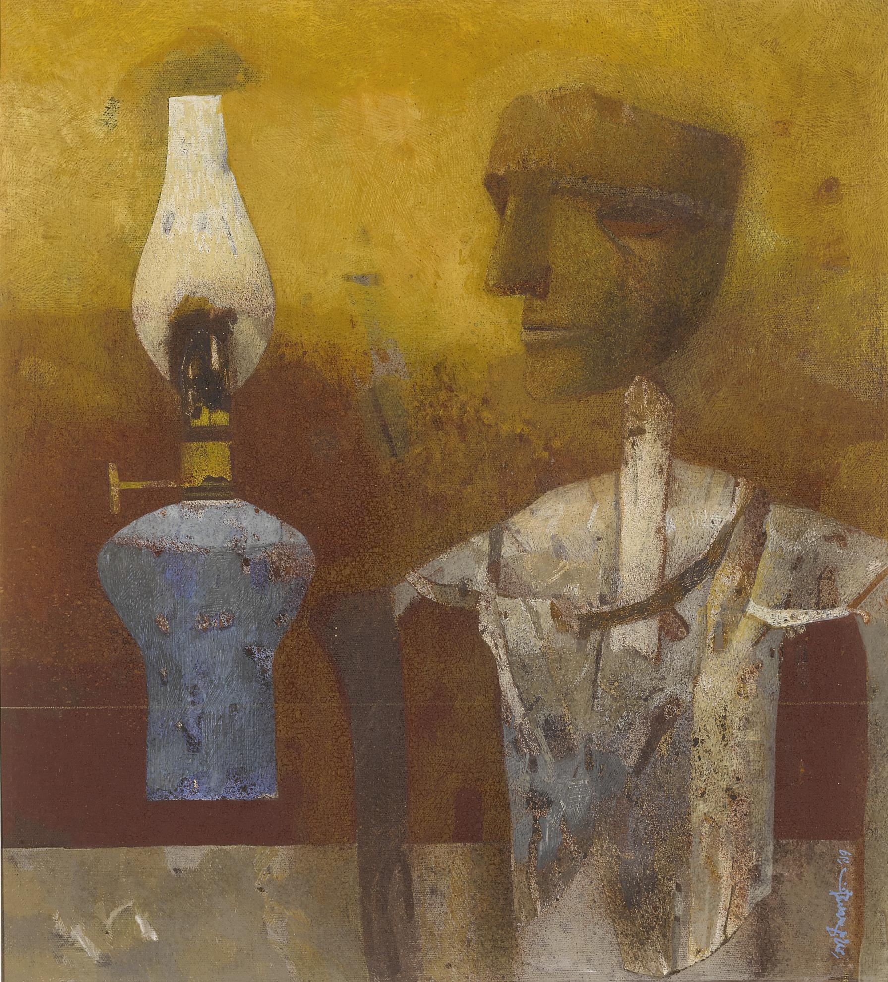 Ganesh Pyne - Lamp And The Effigy-1997