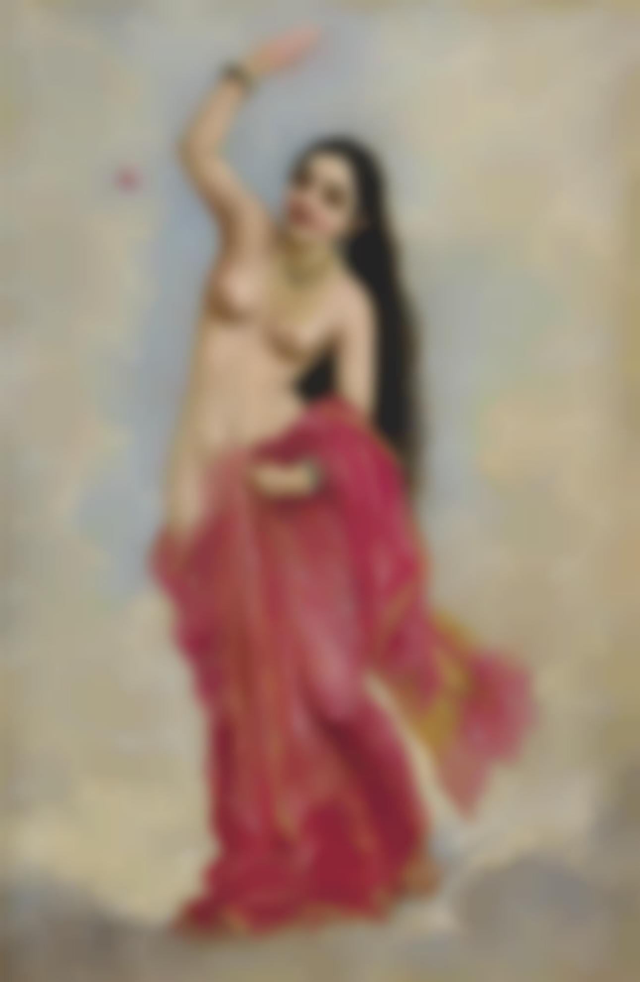 Raja Ravi Varma - Untitled (Tilottama)-1896