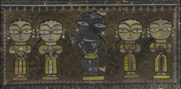 Jamini Roy - Untitled (Krishna With Gopis)