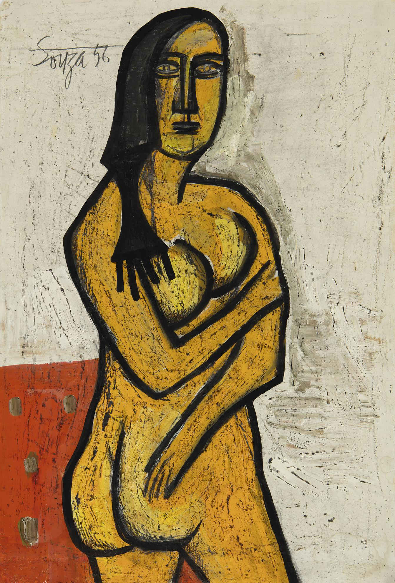 Francis Newton Souza-Nude-1956
