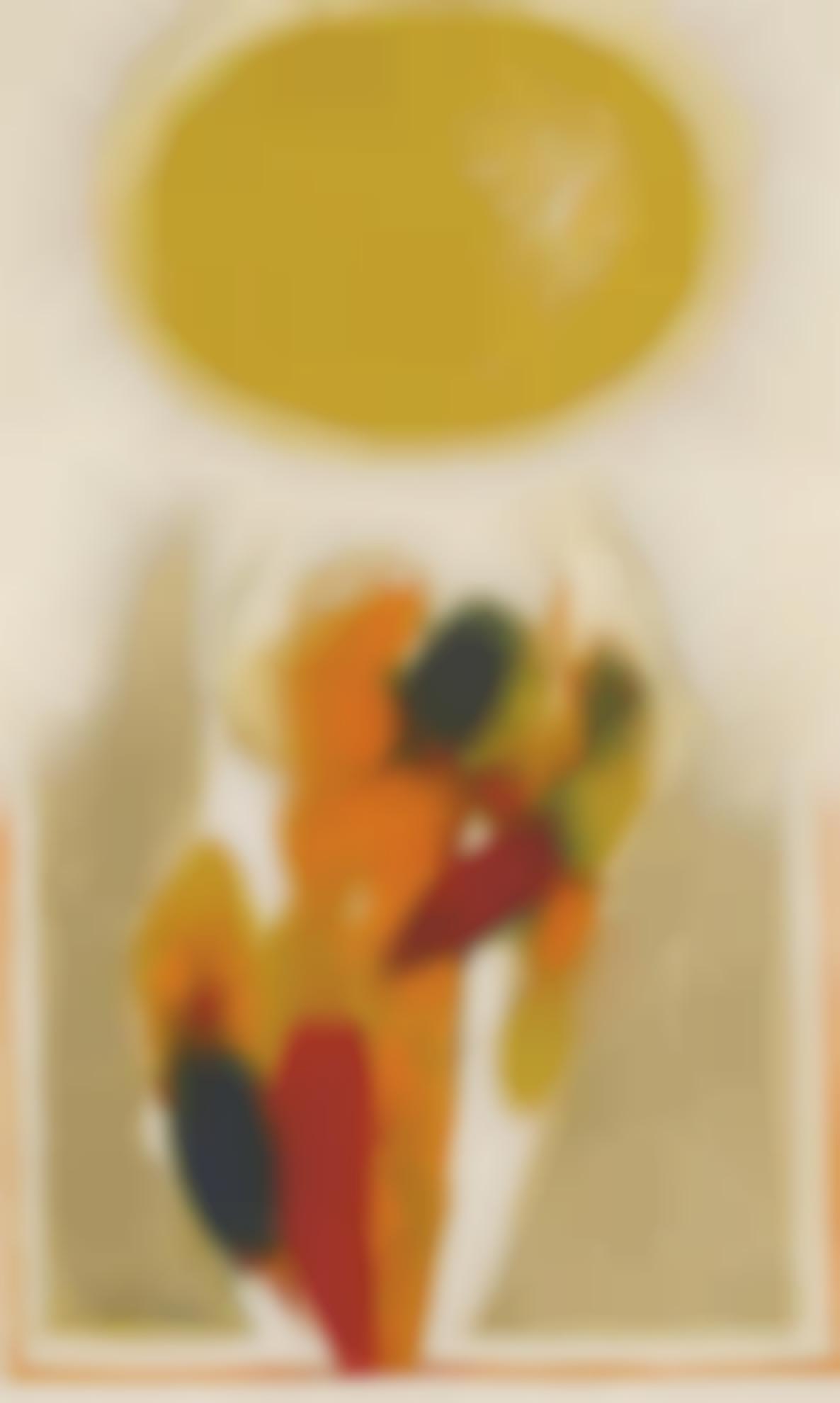 Gulam Rasool Santosh - Untitled-1968