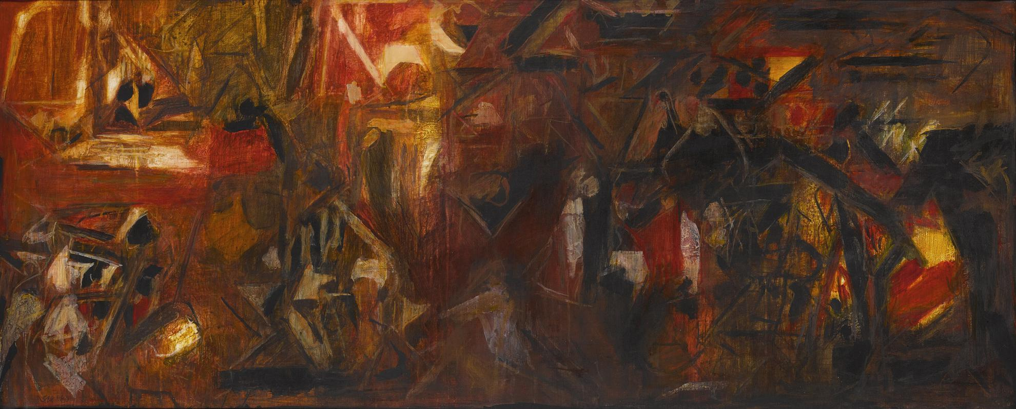Sayed Haider Raza-La Terre-1980