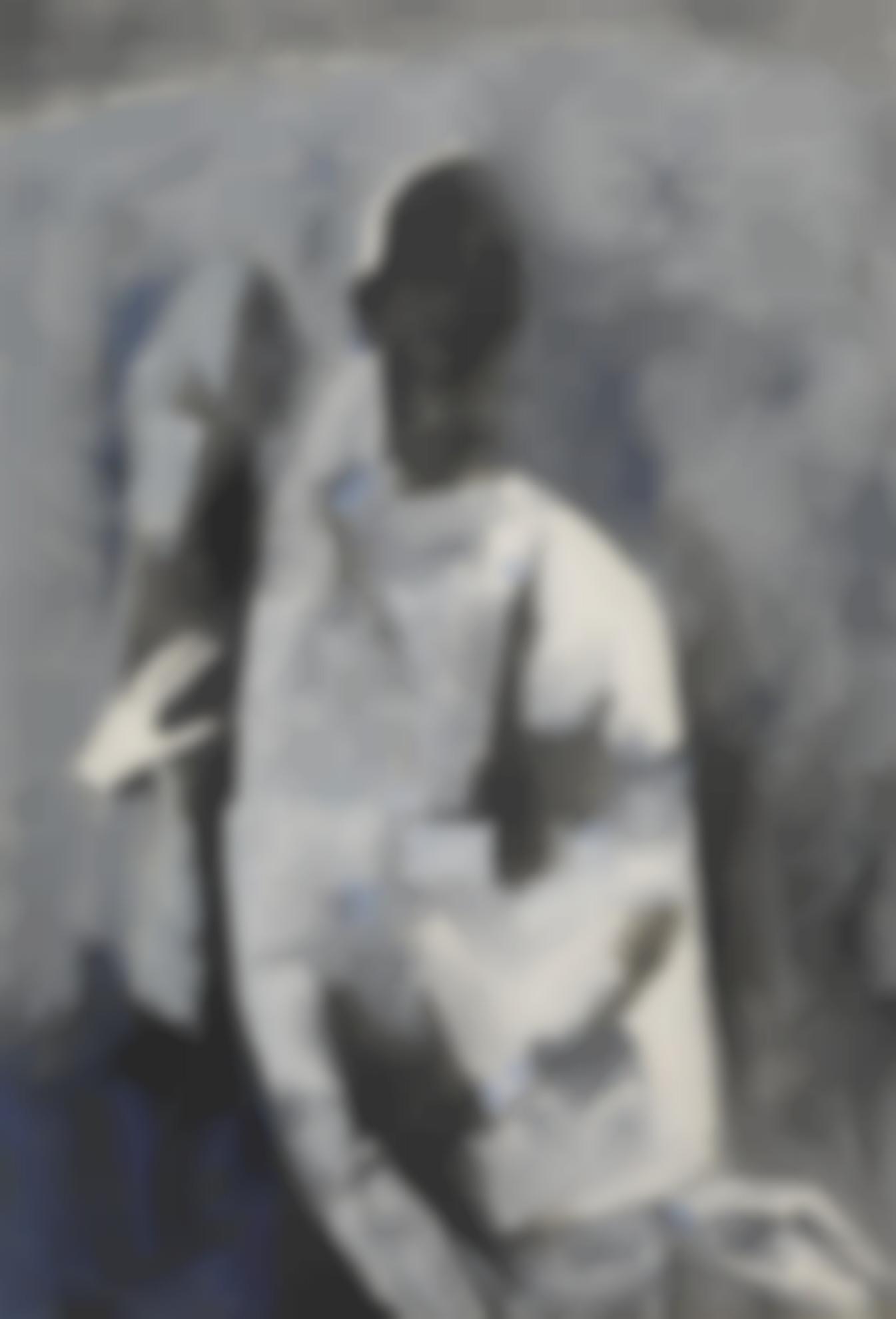 Maqbool Fida Husain-Untitled (Two Women)-1959
