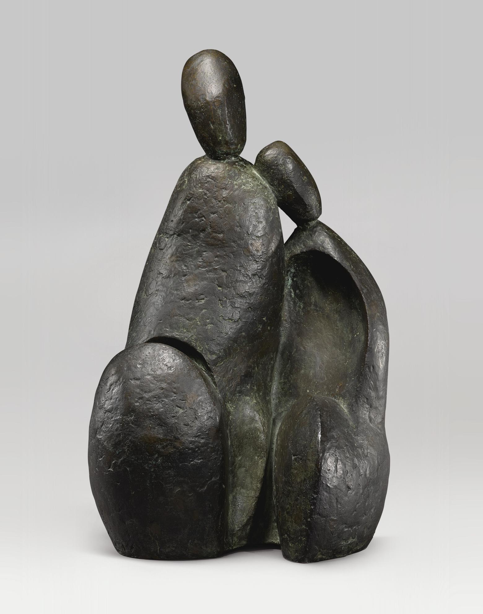 Prodosh Das Gupta - Refugee Couple-1970