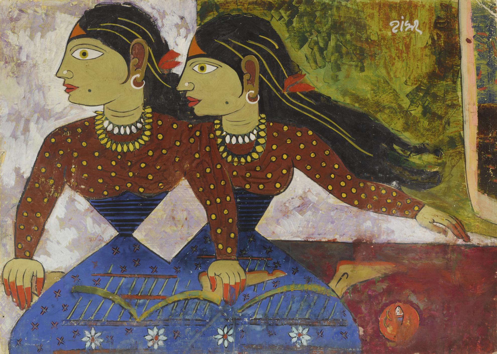 Shankar Balwant Palsikar - Untitled-1950