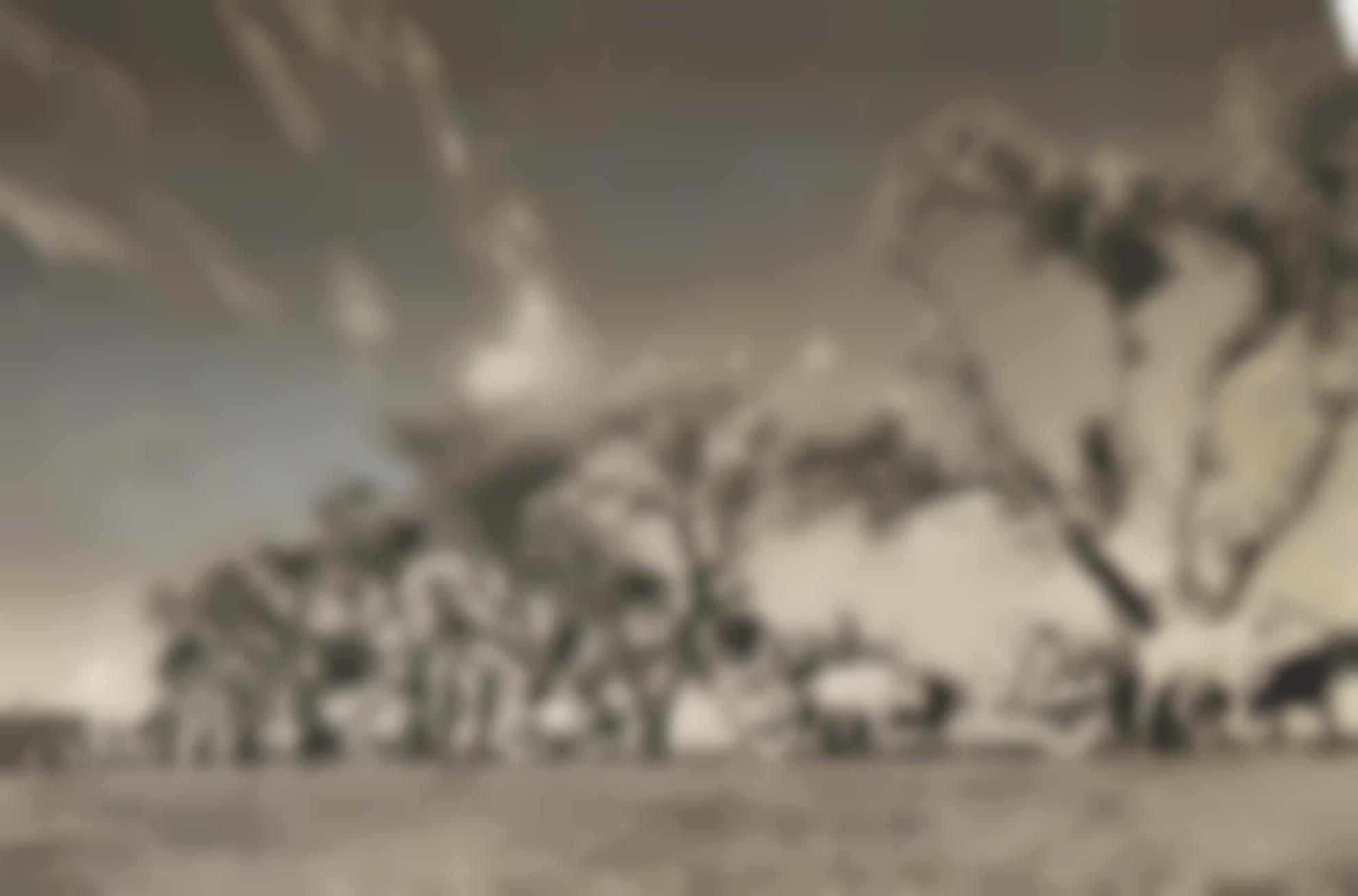 Margaret Bourke-White-Great Migration: Emigrant Trains Of Sikhs-1947