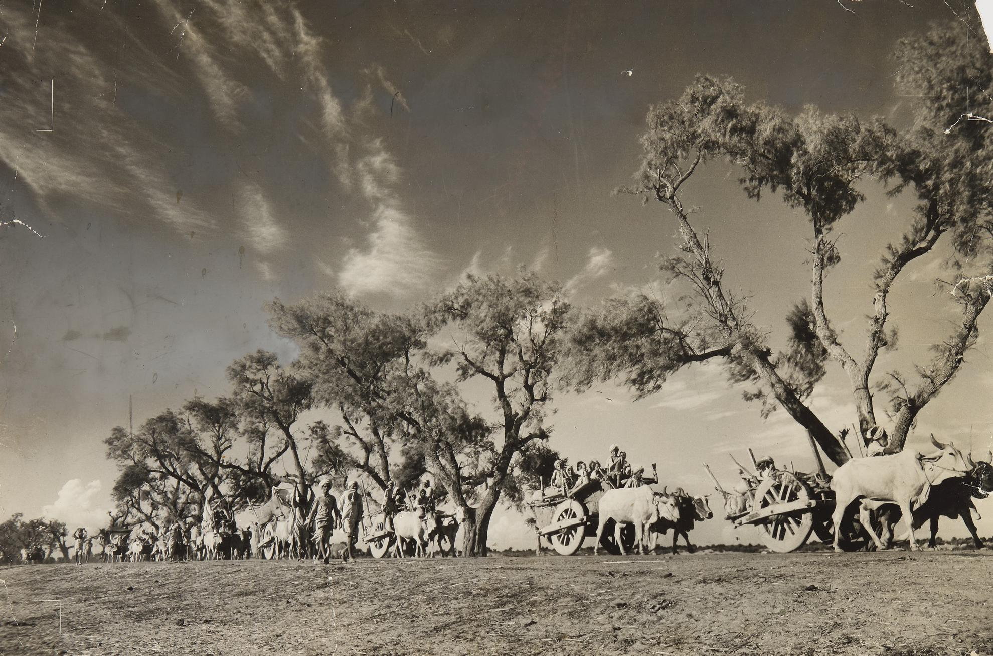 Margaret Bourke-White-Great Migration: Emigrant Trains Of Sikhs-1947