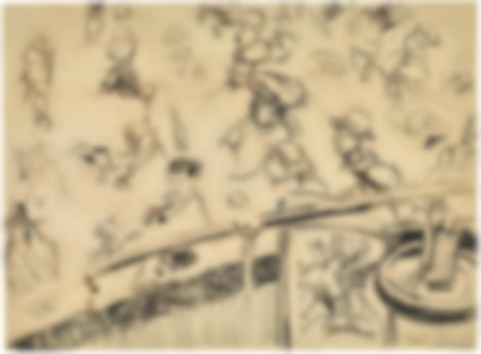 Walter Richard Sickert-The Old Mogul Tavern, Drury Lane-1906