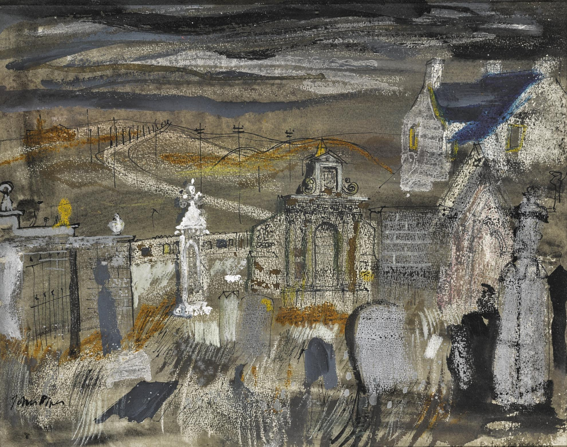 John Piper-Portmahomack, Old Church Yard-