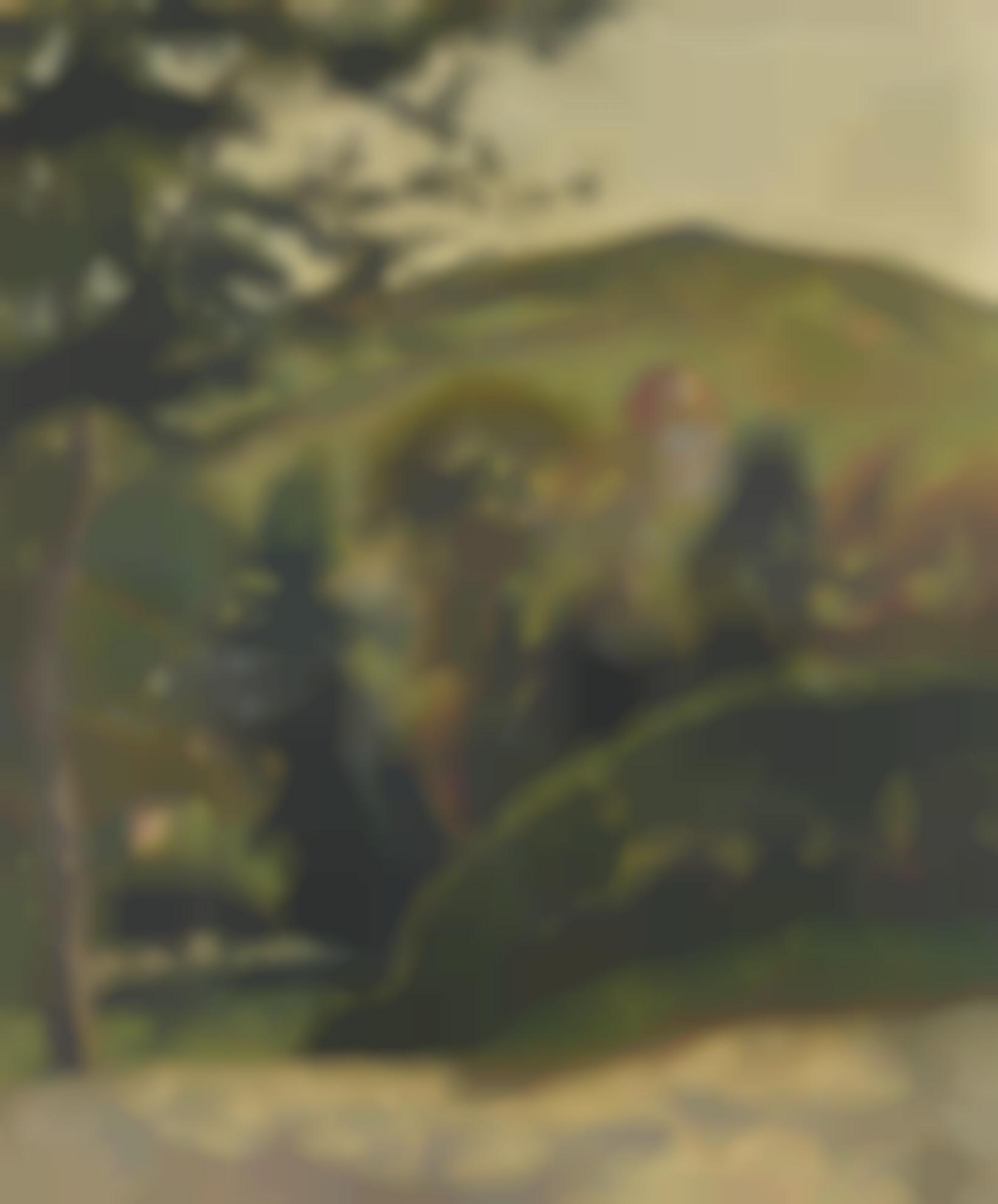 Lucien Pissarro-The Hillside, Berneval-1900
