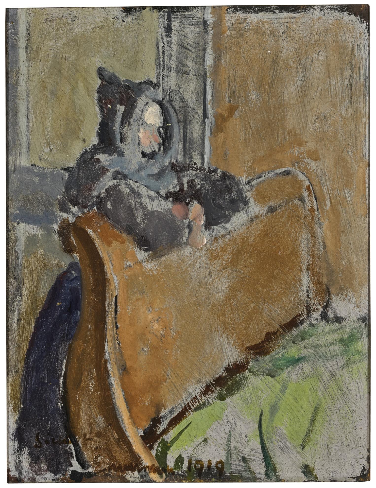 Walter Richard Sickert-Chez Maman Joinquant-1919