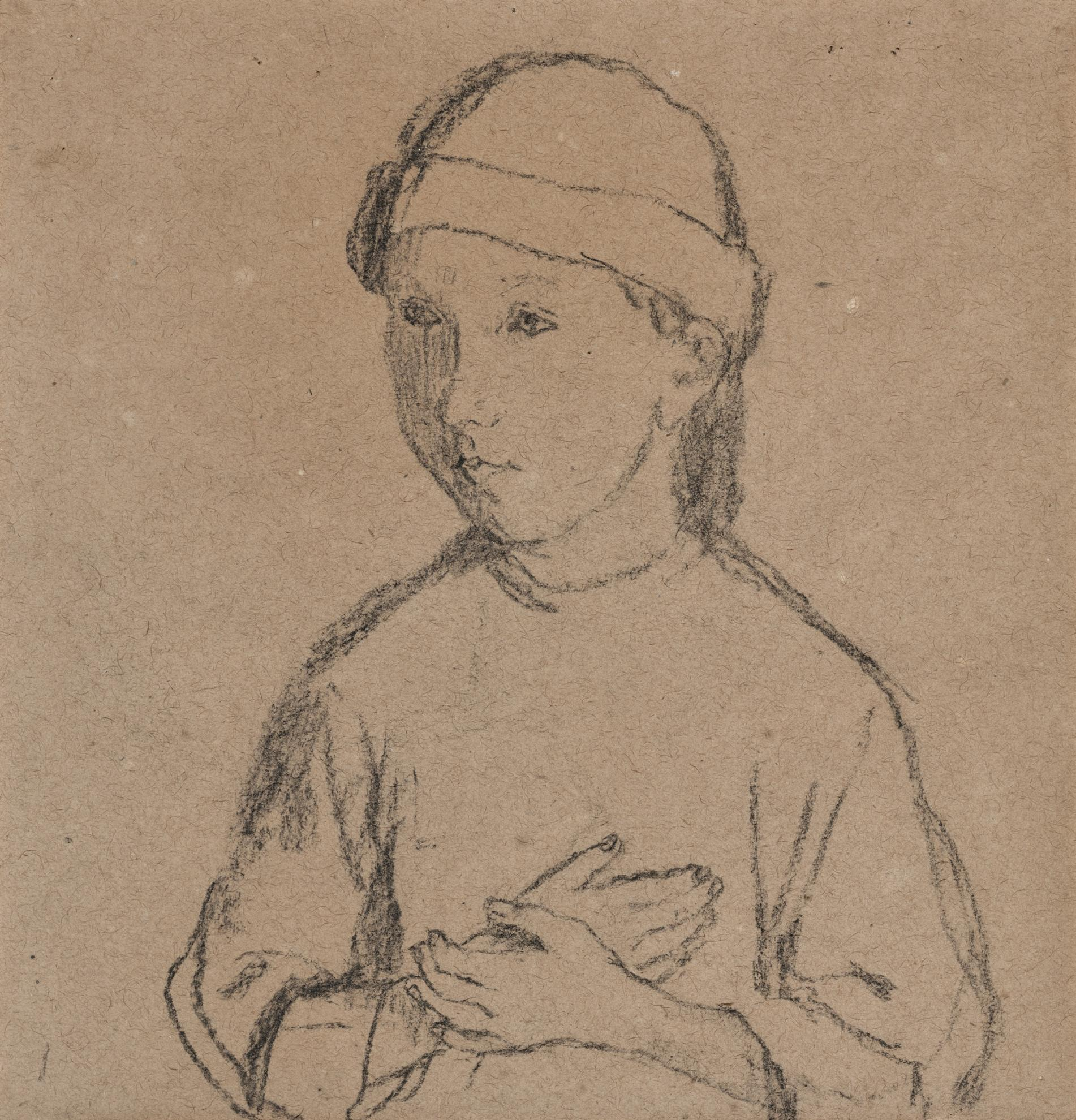 Gwen John-The Child With A Polo-1910