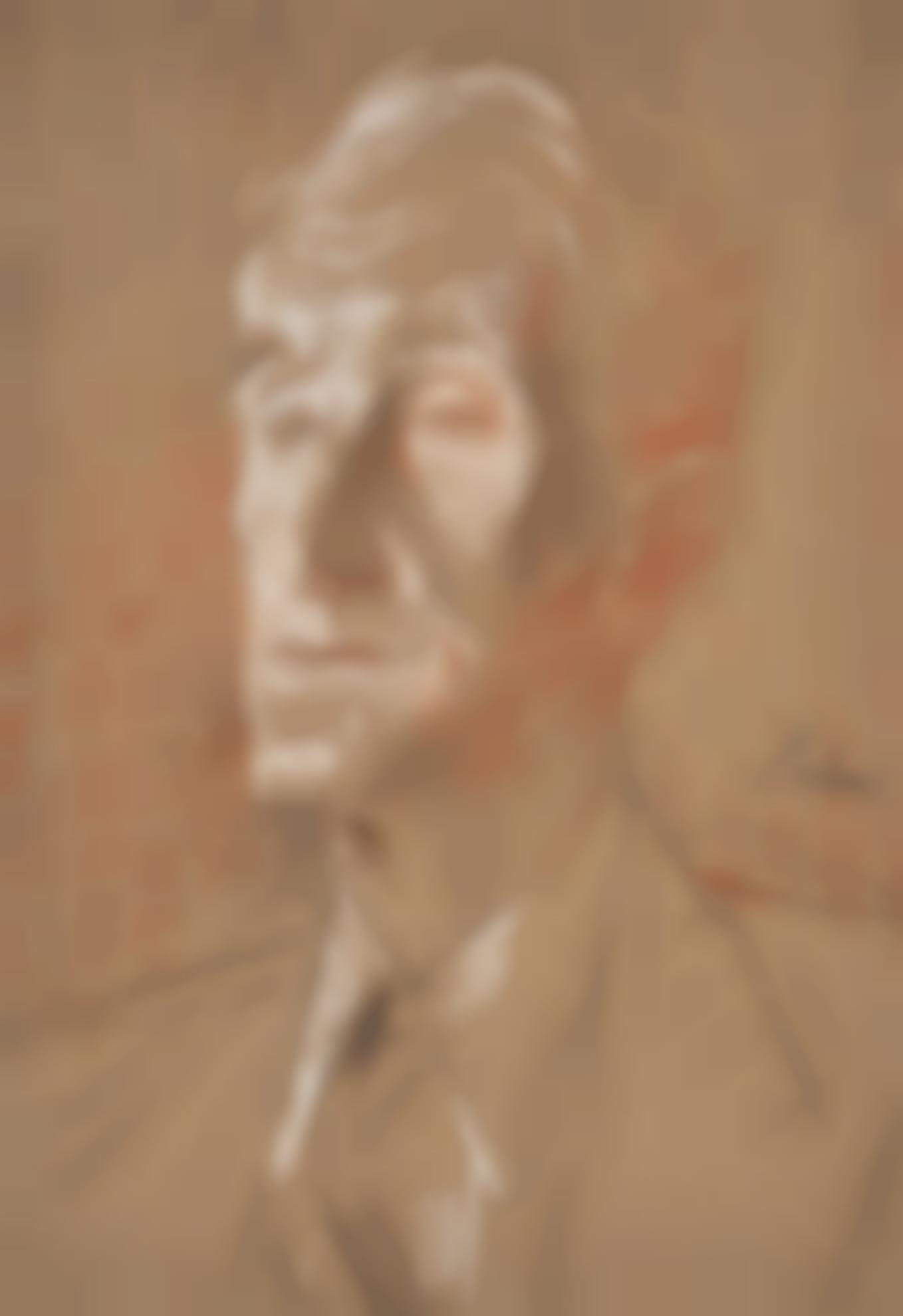 Augustus Edwin John-Portrait Of Charles Langbridge Morgan-