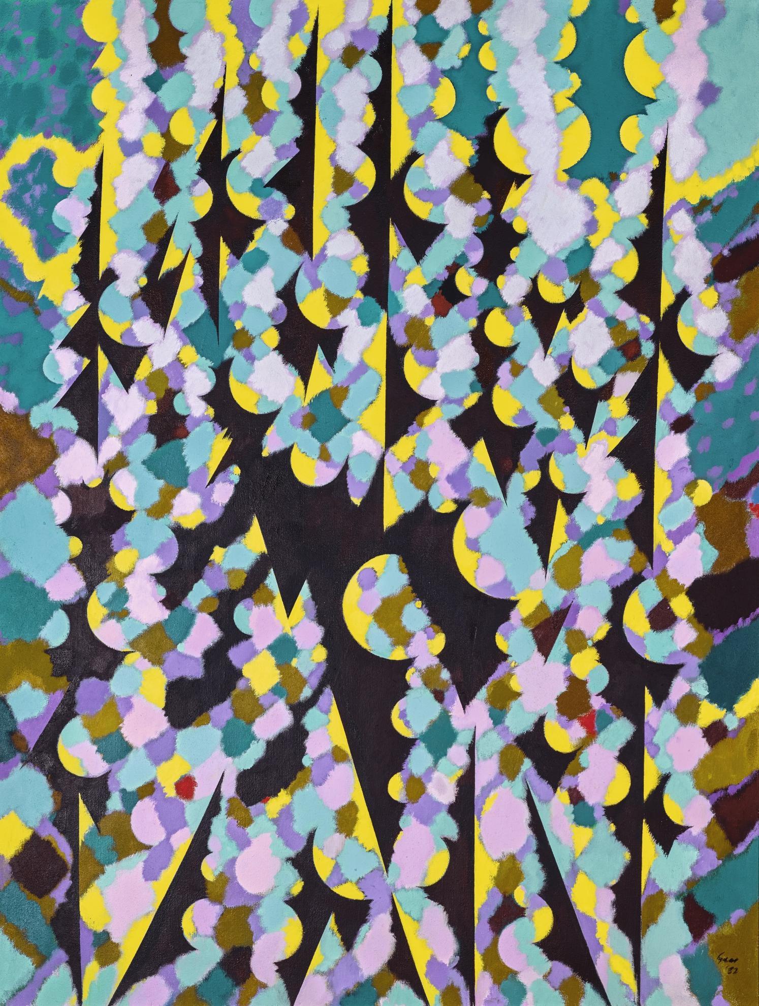 William Gear-Garden Souvenir-1982