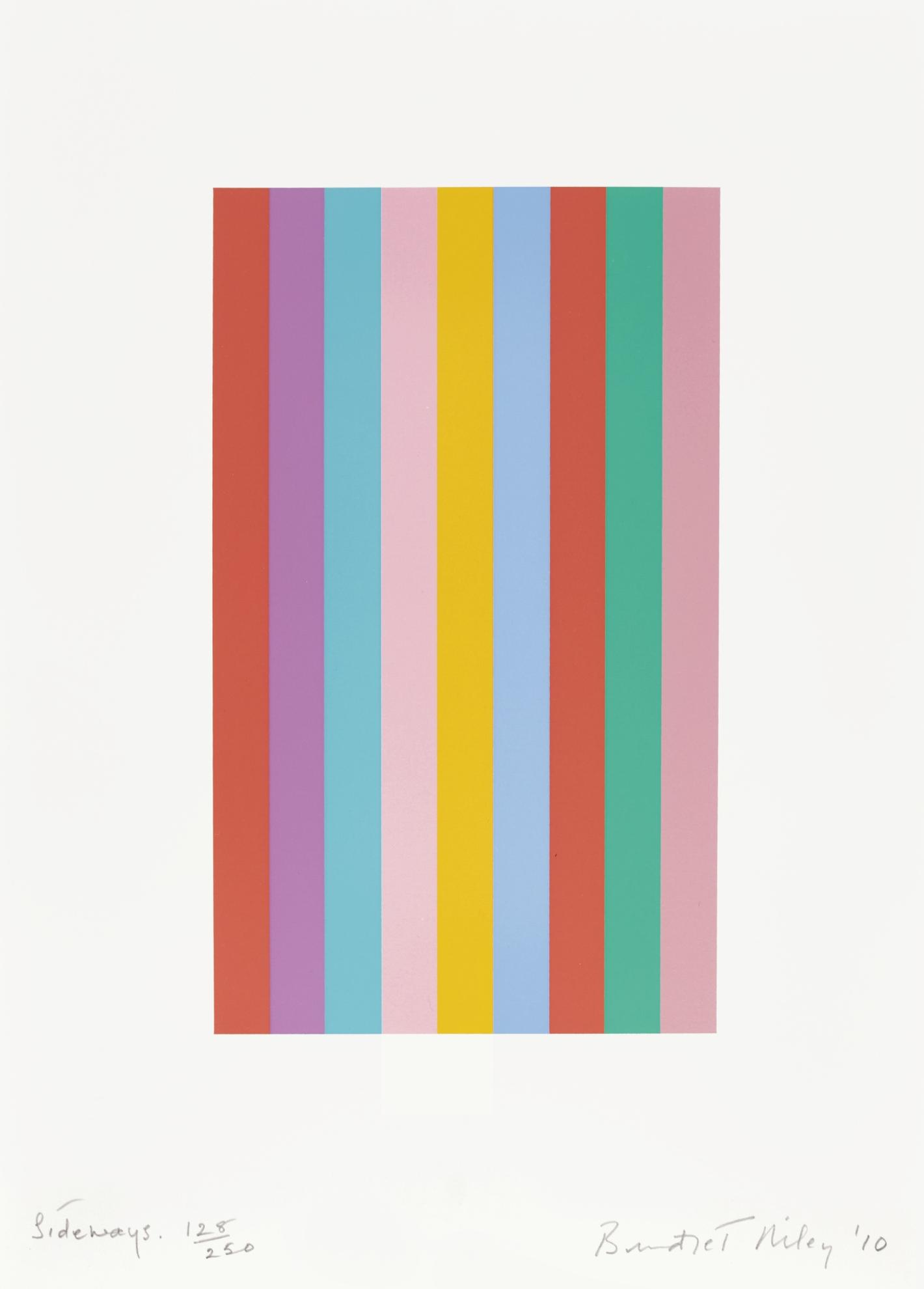 Bridget Riley-Sideways (S. 76)-2011