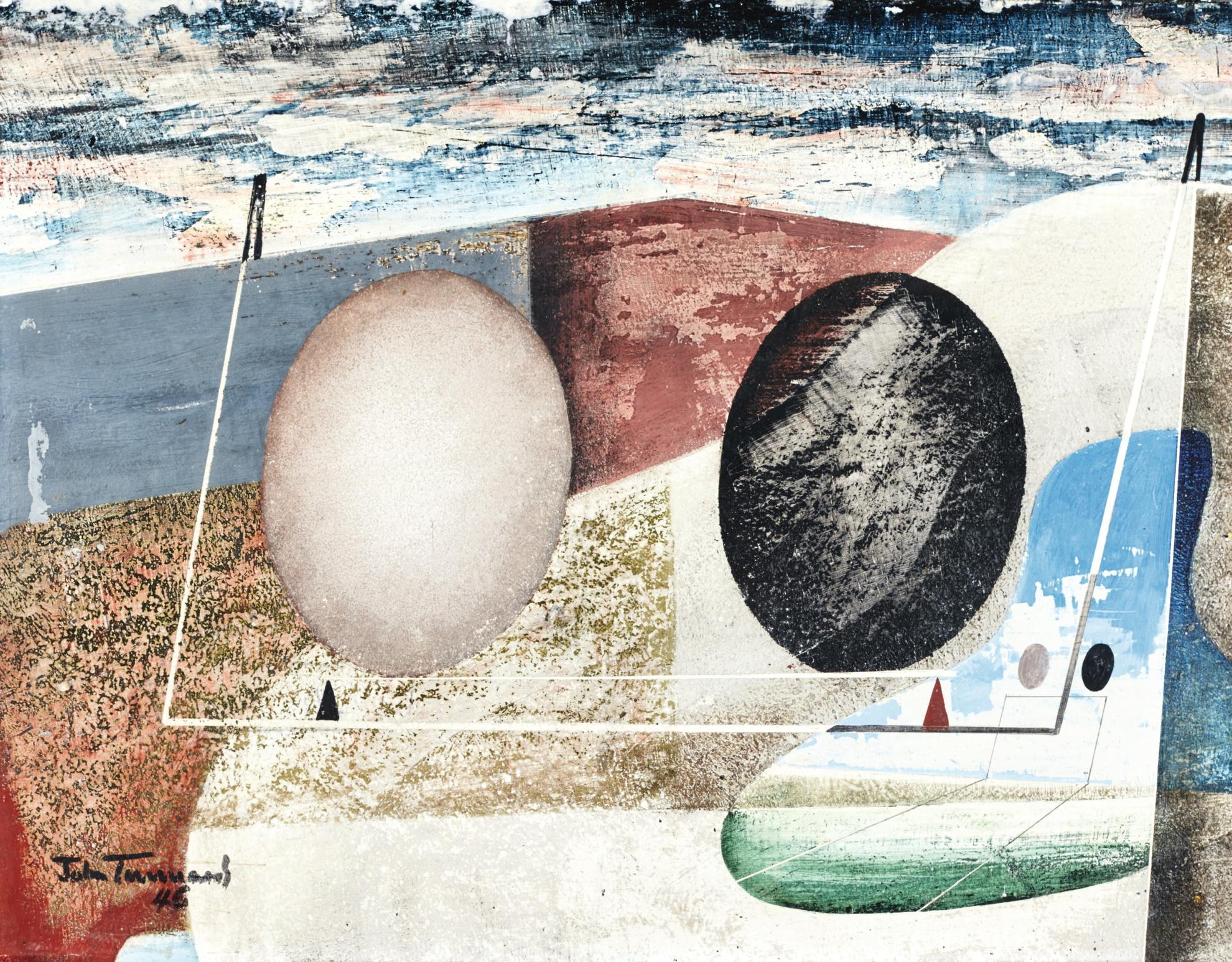 John Tunnard-Bagatelle-1946