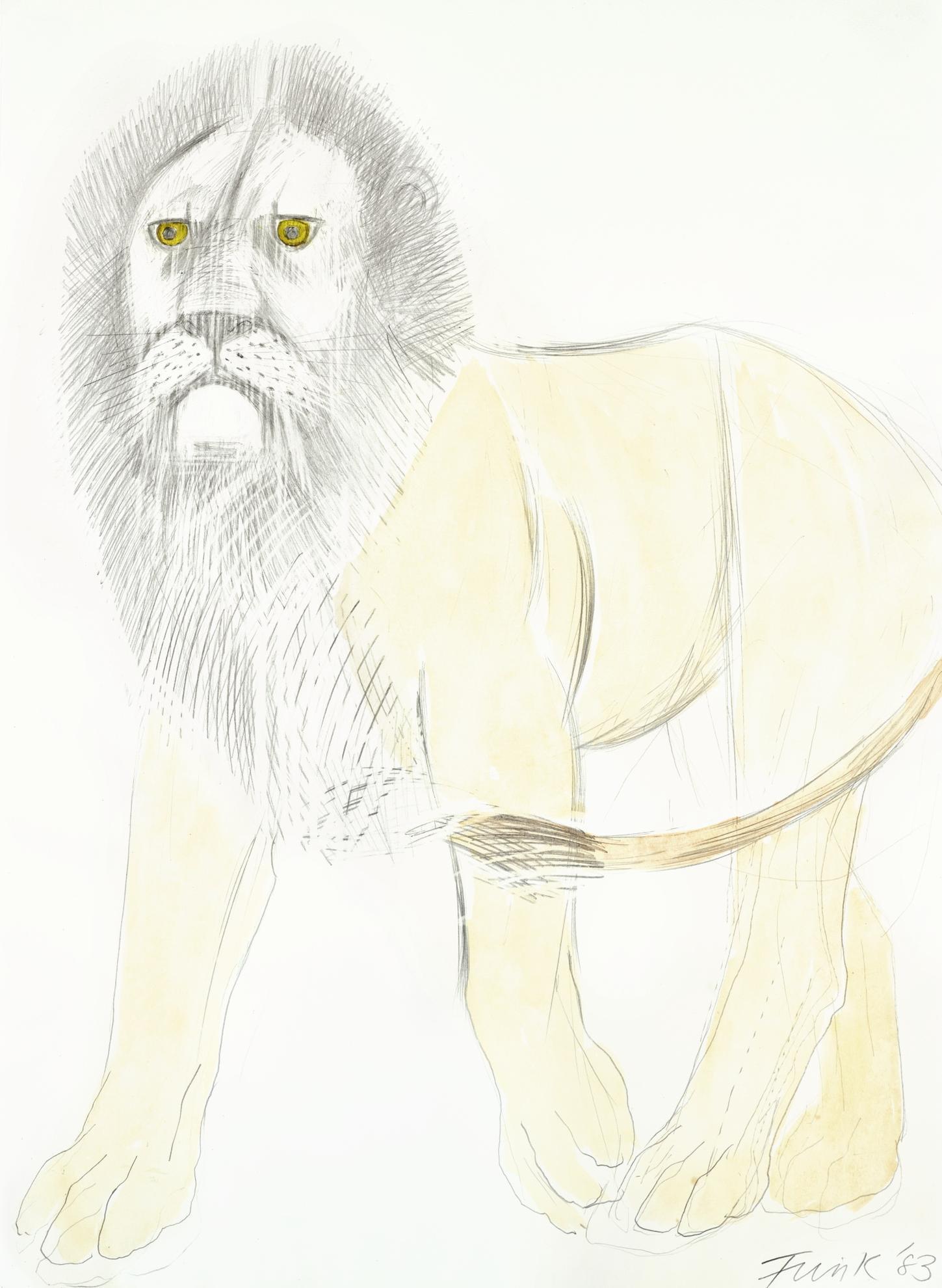 Elisabeth Frink-Lion-1983