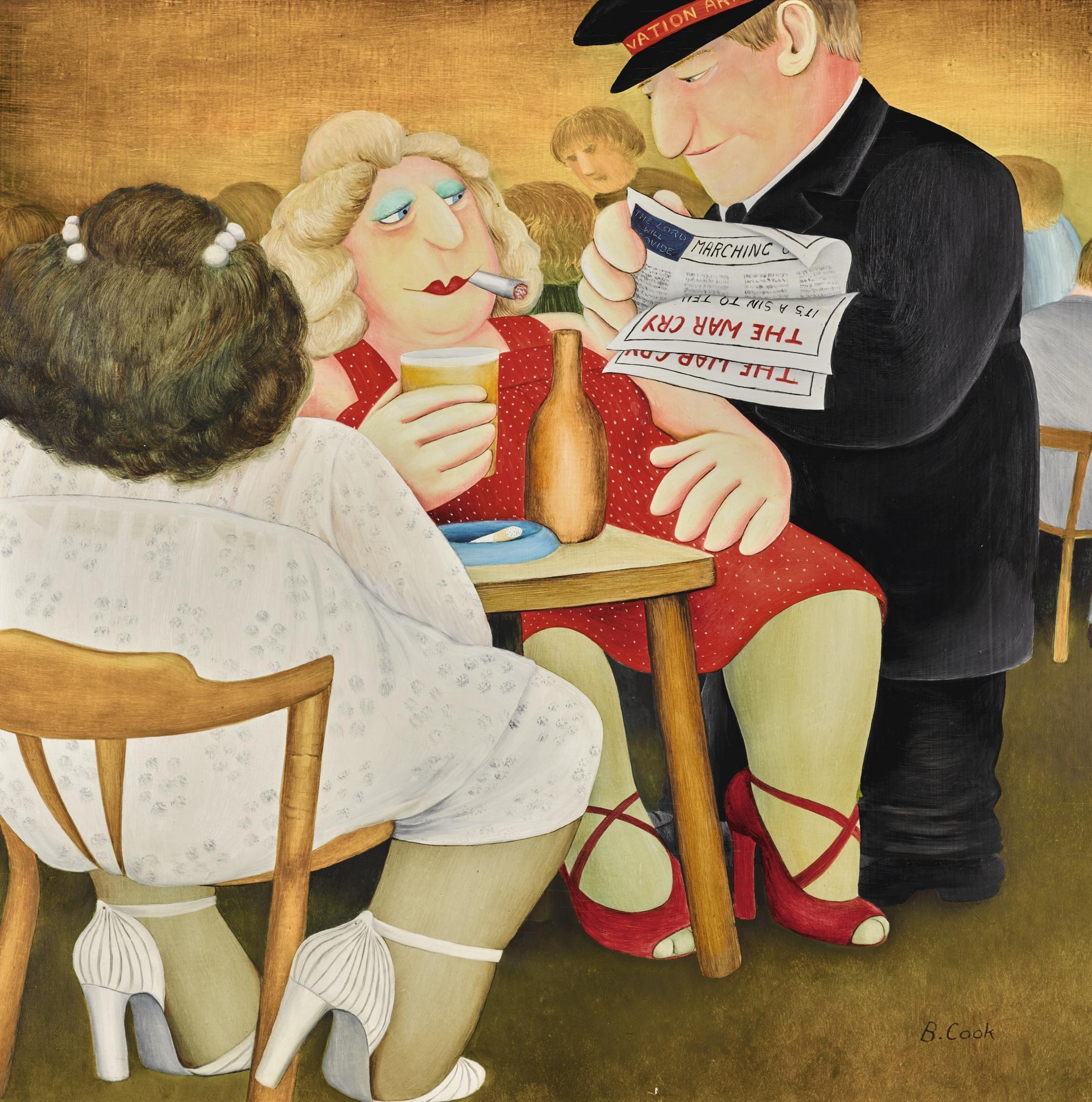 Beryl Cook-The War Cry-