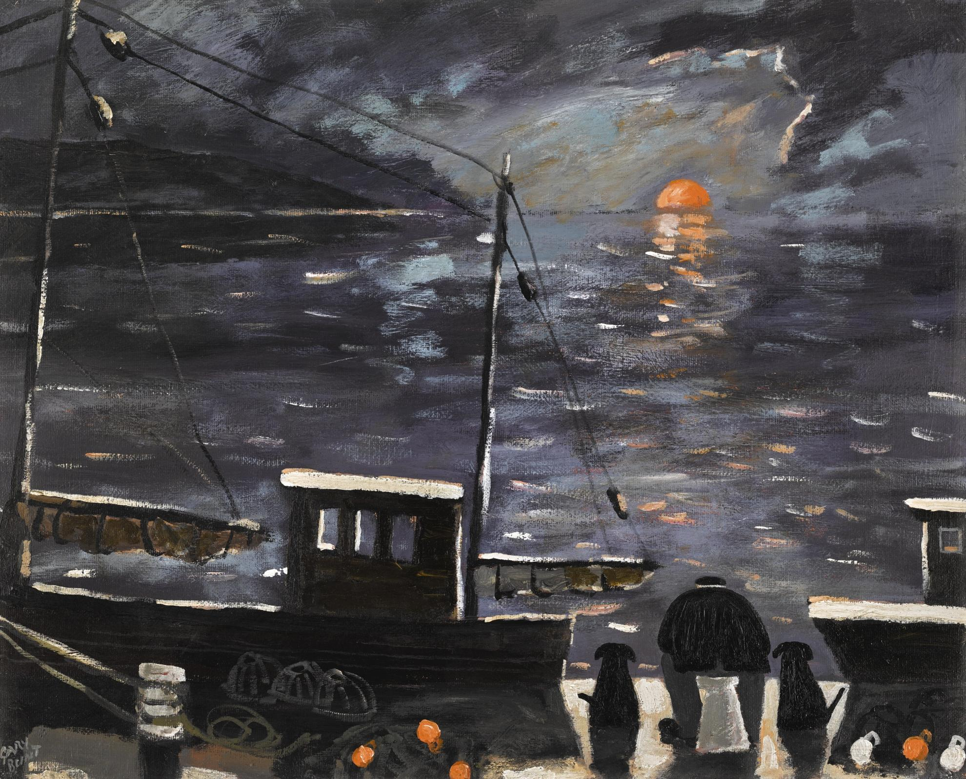 Gary Bunt-The Harbour-2014
