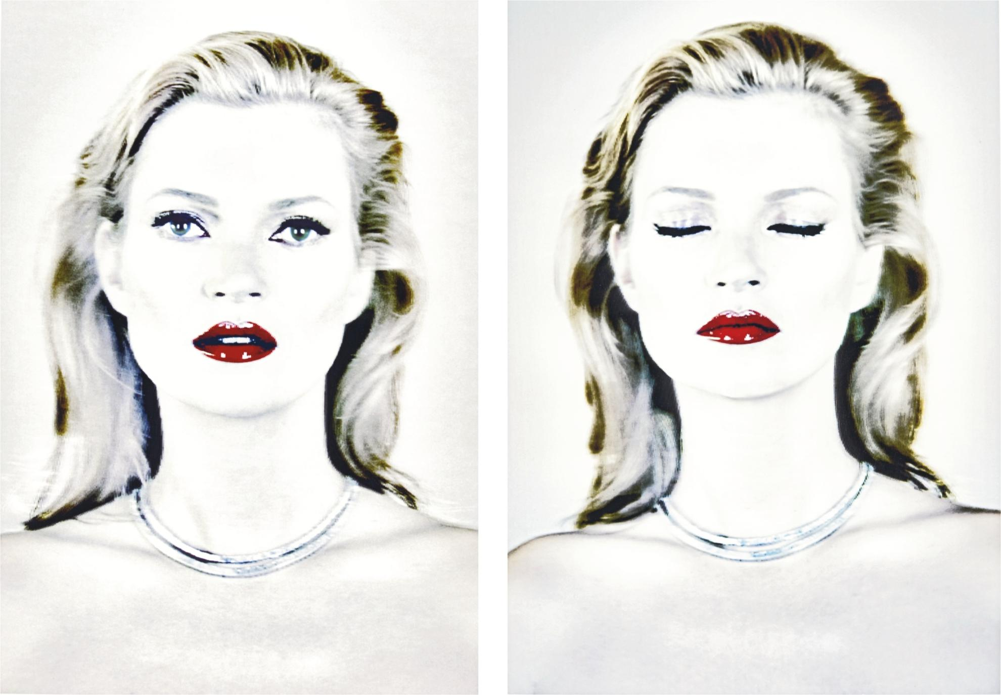 Chris Levine-Kate Moss (Shes Light)-2014